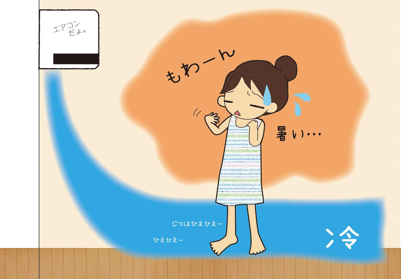 ☆女性のミカタ〜あなどるなかれ!夏の冷え☆